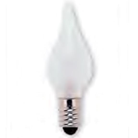 Kerzenlampe, matt, E6, 12 Volt, 0.9 Watt, 3 Stück
