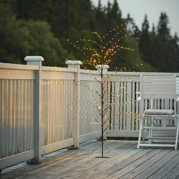 Dekorations Baum Reedy 180cm 480 LED Lichter Outdoor