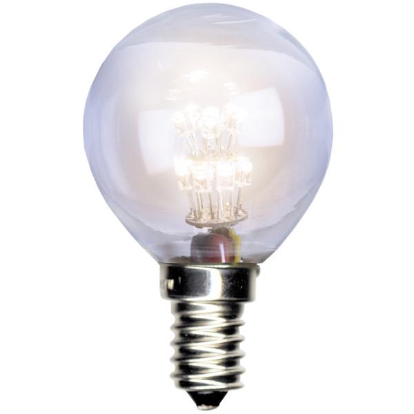 Birne LED klar,Tropfenform, Fassung E14, 230 Volt, 0,7 Watt