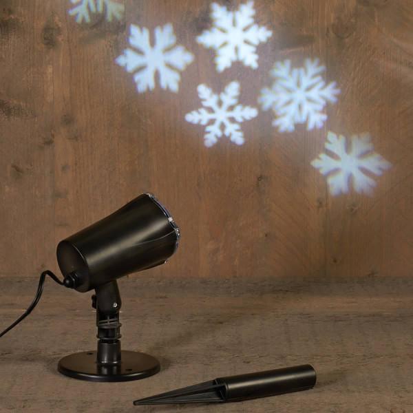 Weihnachtsbeleuchtung Projektor outdoor Schneeflocke