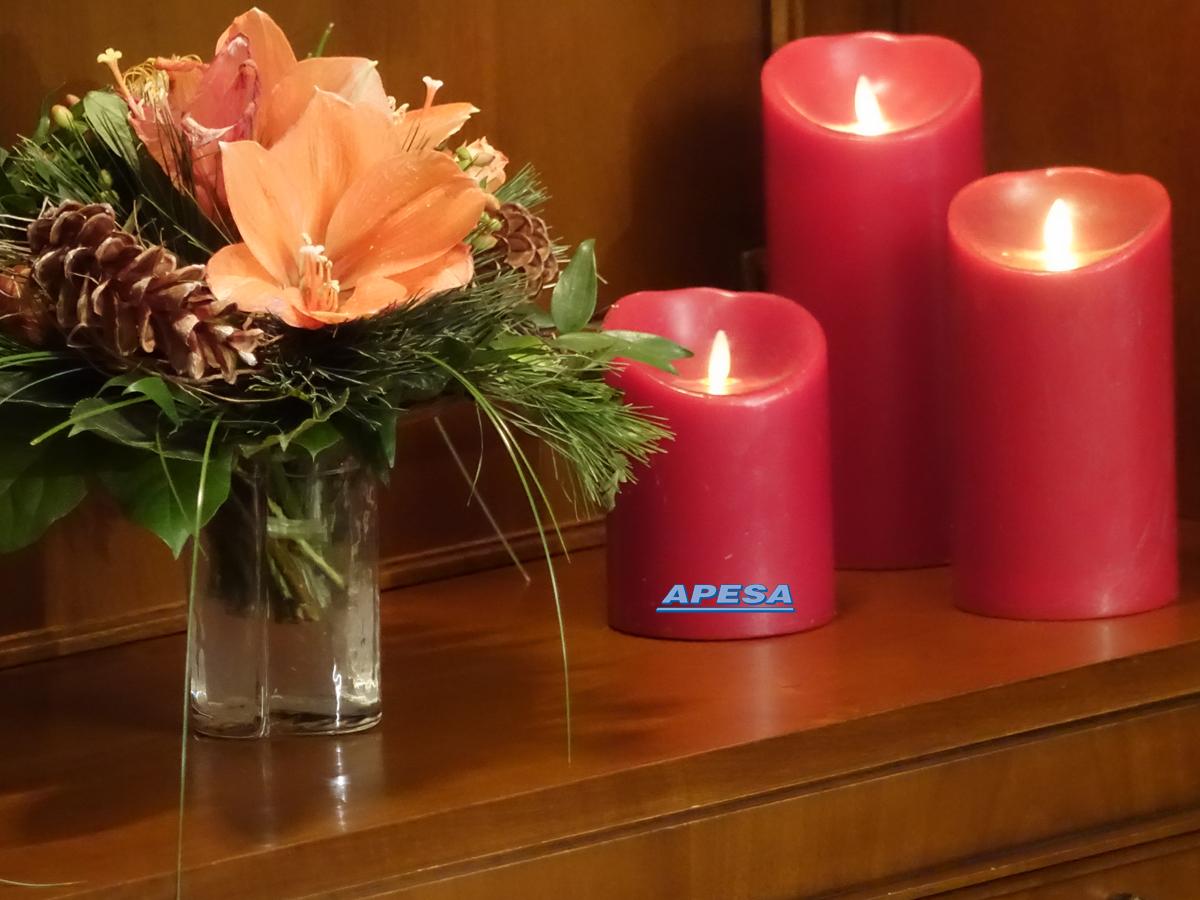 Vorteile der flammenlosen Kerzen