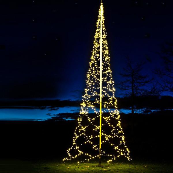Fairybell Weihnachtsbaum H800cm, 1200 LED, für Fahnenstange